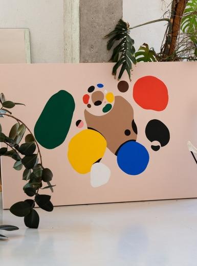 art print illusration brand rebrand modern design visual identity branding design identity graphic blog project mindsparkle mag beautiful portfolio
