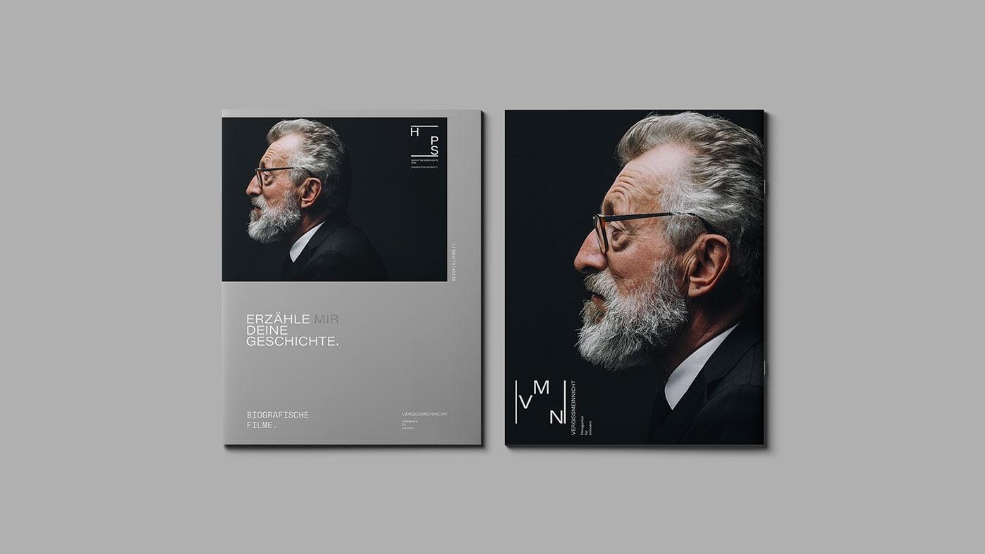 Branding Design for VERGISSMEINNICHT – film agency for