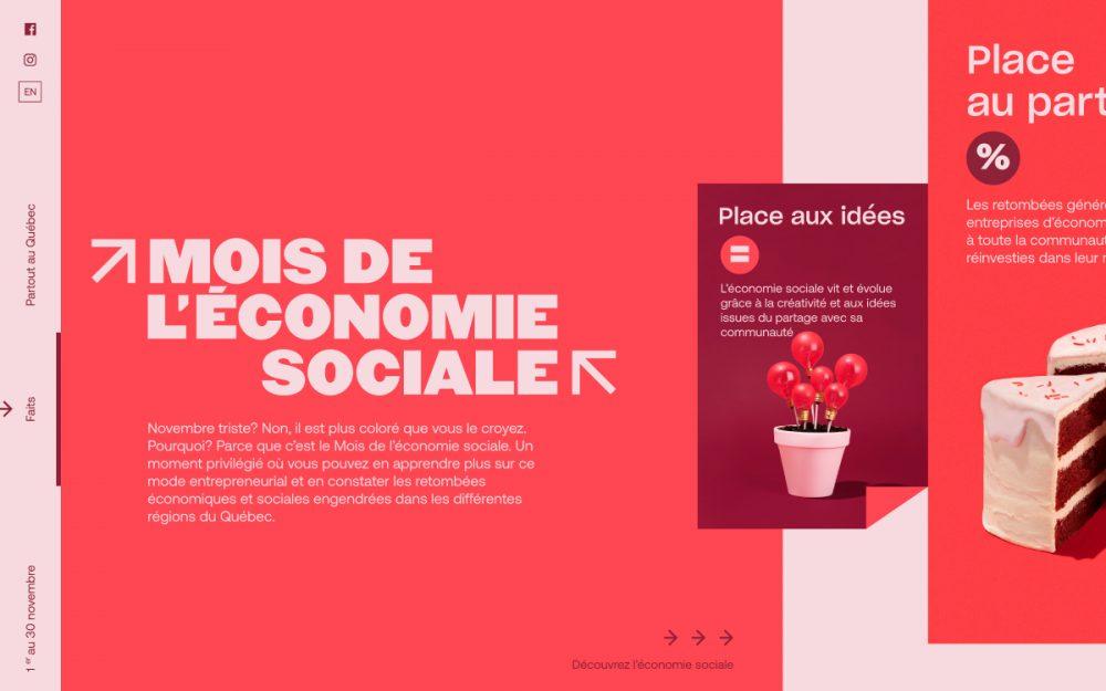 web design digital website modern inspiration beautiful project mindsparklemag siteoftheday sotd award Social economy month mambomambo