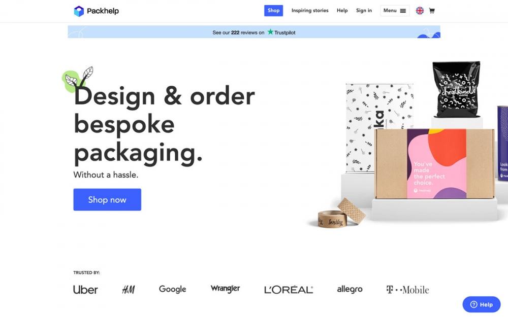 web design digital website modern inspiration beautiful project mindsparklemag siteoftheday sotd award packhelp custom packaging