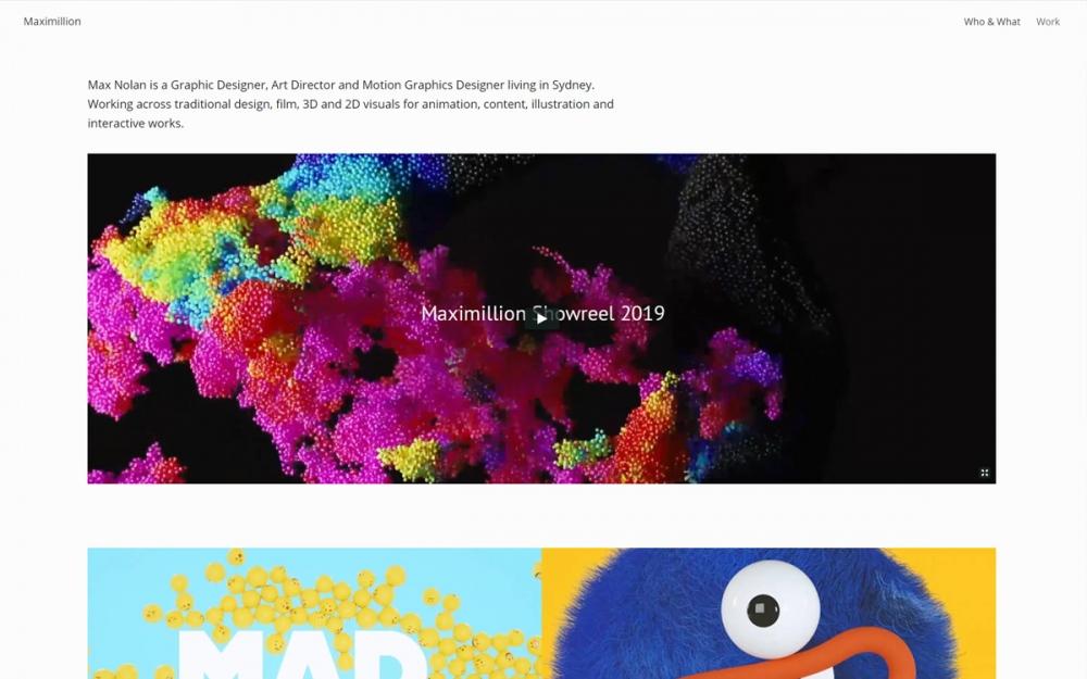 web design digital website modern inspiration beautiful project mindsparklemag siteoftheday sotd award