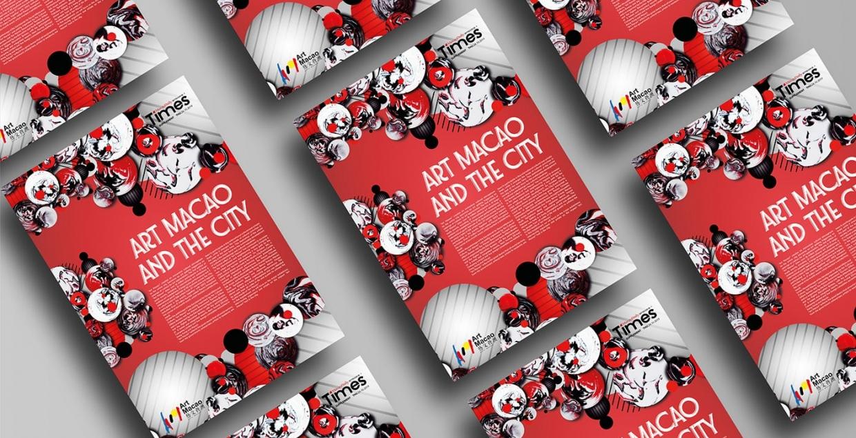 art macao brand modern design visual identity branding design identity graphic blog project mindsparkle mag beautiful portfolio
