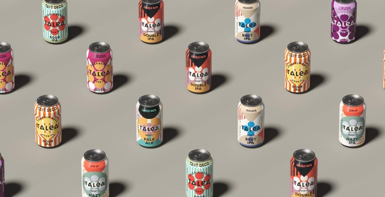 talea beer brand modern design visual identity branding design identity graphic blog project mindsparkle mag beautiful portfolio