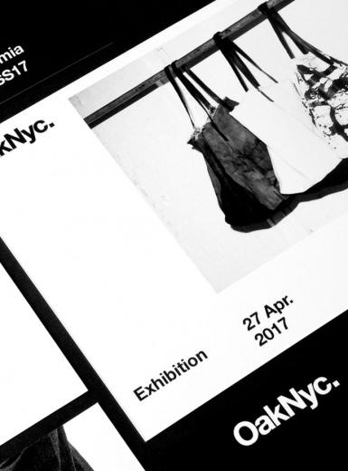 oak nyc brand modern design visual identity branding design identity graphic blog project mindsparkle mag beautiful portfolio