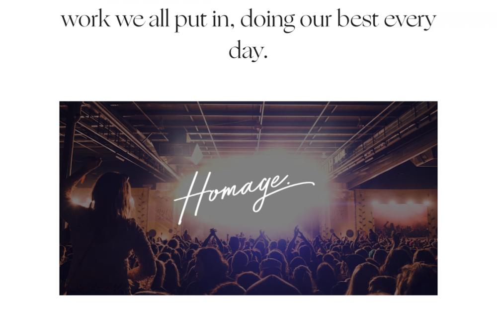 web design digital website modern inspiration beautiful project mindsparklemag new site Homage Another State