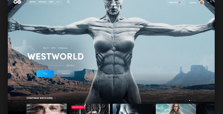 HBO GO design identity graphic blog project mindsparkle mag beautiful portfolio