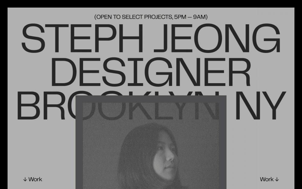 web design digital website modern inspiration beautiful project mindsparklemag site of the day sotd Steph Jeong Scrapbook \'20