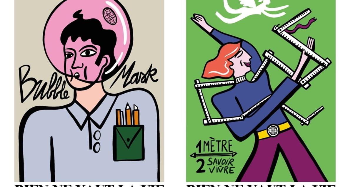 Rien ne vaut la vie design identity graphic blog project mindsparkle mag beautiful portfolio