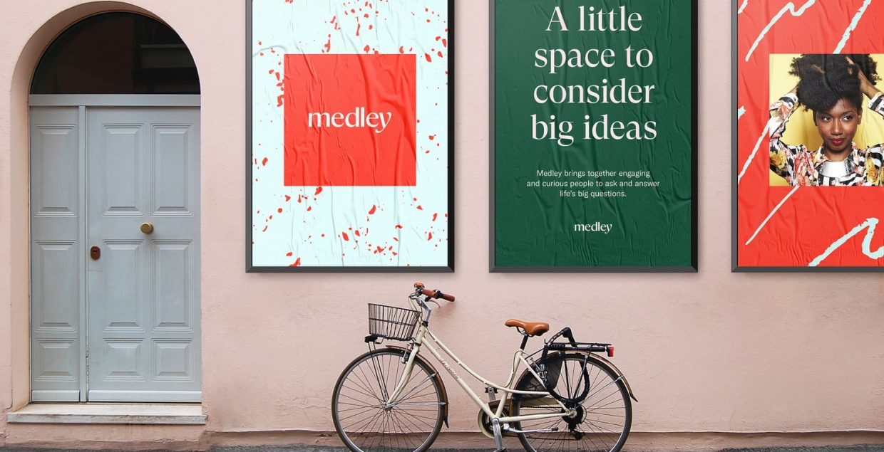 medley design identity graphic blog project mindsparkle mag beautiful portfolio