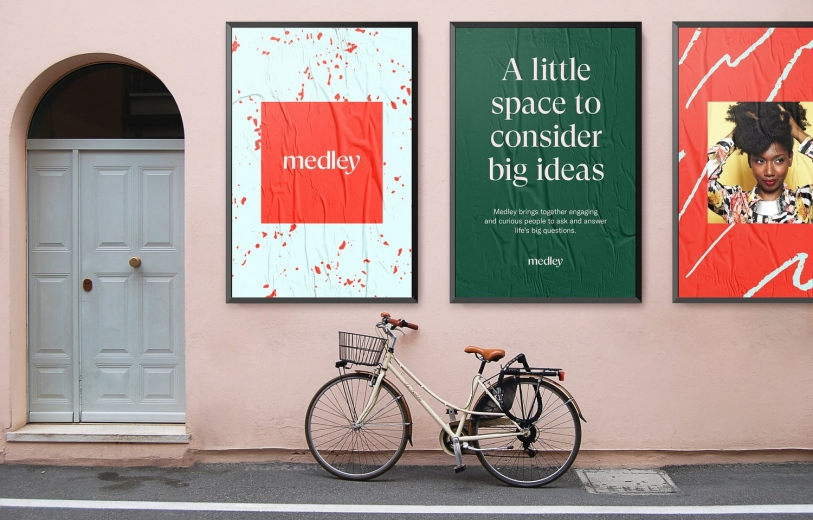 medley design identity graphic blog project mindsparkle mag beautiful portfolio