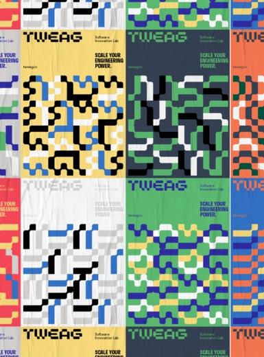 Tweag design identity graphic blog project mindsparkle mag beautiful portfolio