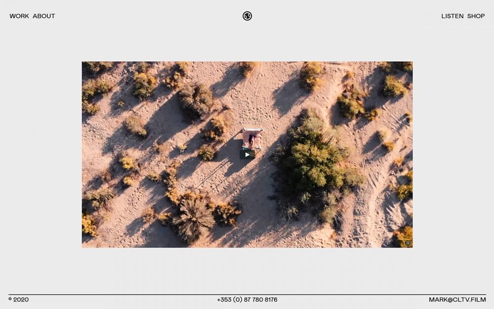 web design digital website modern inspiration beautiful project mindsparklemag site of the day sotd COLLECTIVE Films