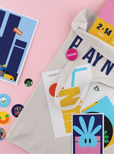 Fundom Branding identity packaging design graphic blog project mindsparkle mag beautiful portfolio
