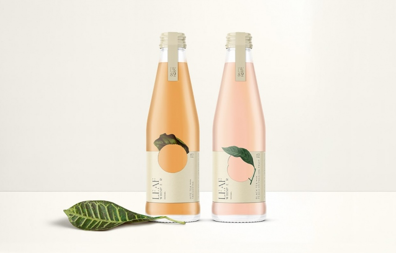 Leaf Whisper identity packaging design graphic blog project mindsparkle mag beautiful portfolio