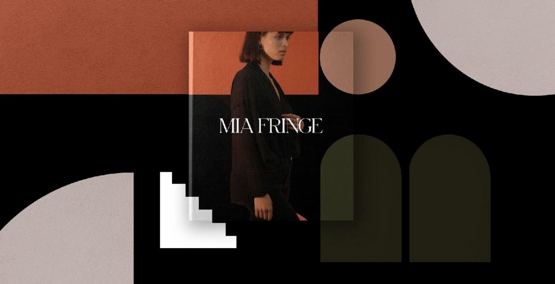Mia Fringe brand identity design graphic blog project mindsparkle mag beautiful portfolio