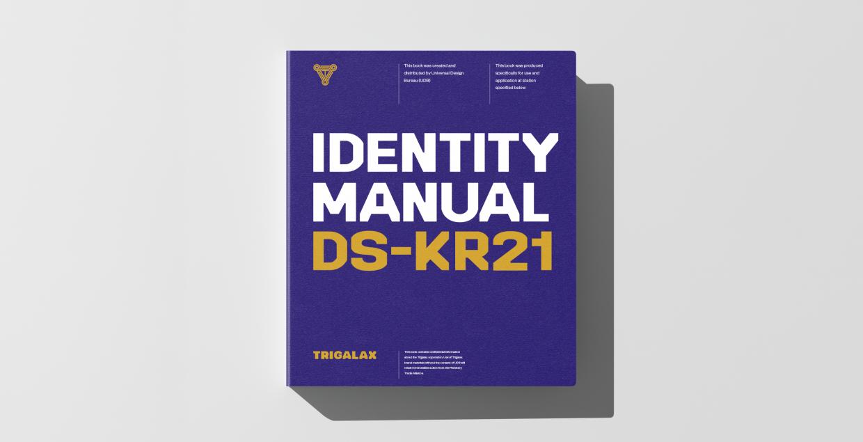 TRIGALAX brand identity design graphic blog project mindsparkle mag beautiful portfolio
