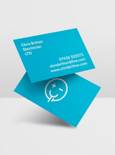 Chris Britton Electrician branding logo identity design graphic blog project mindsparkle mag beautiful portfolio