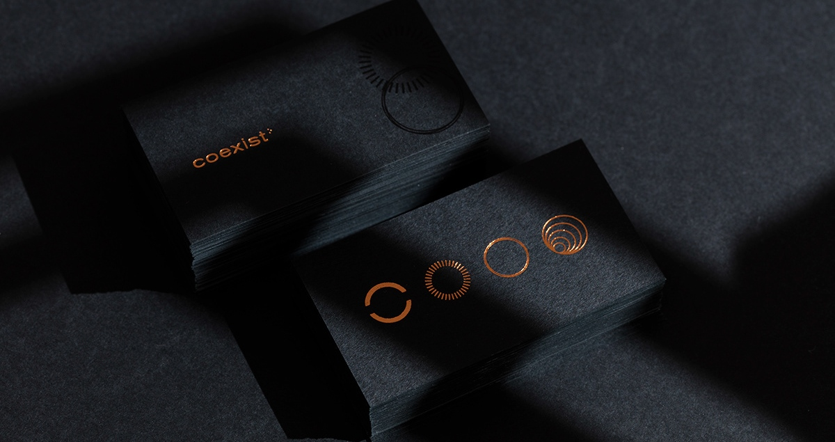 Coexist branding logo identity design graphic blog project mindsparkle mag beautiful portfolio