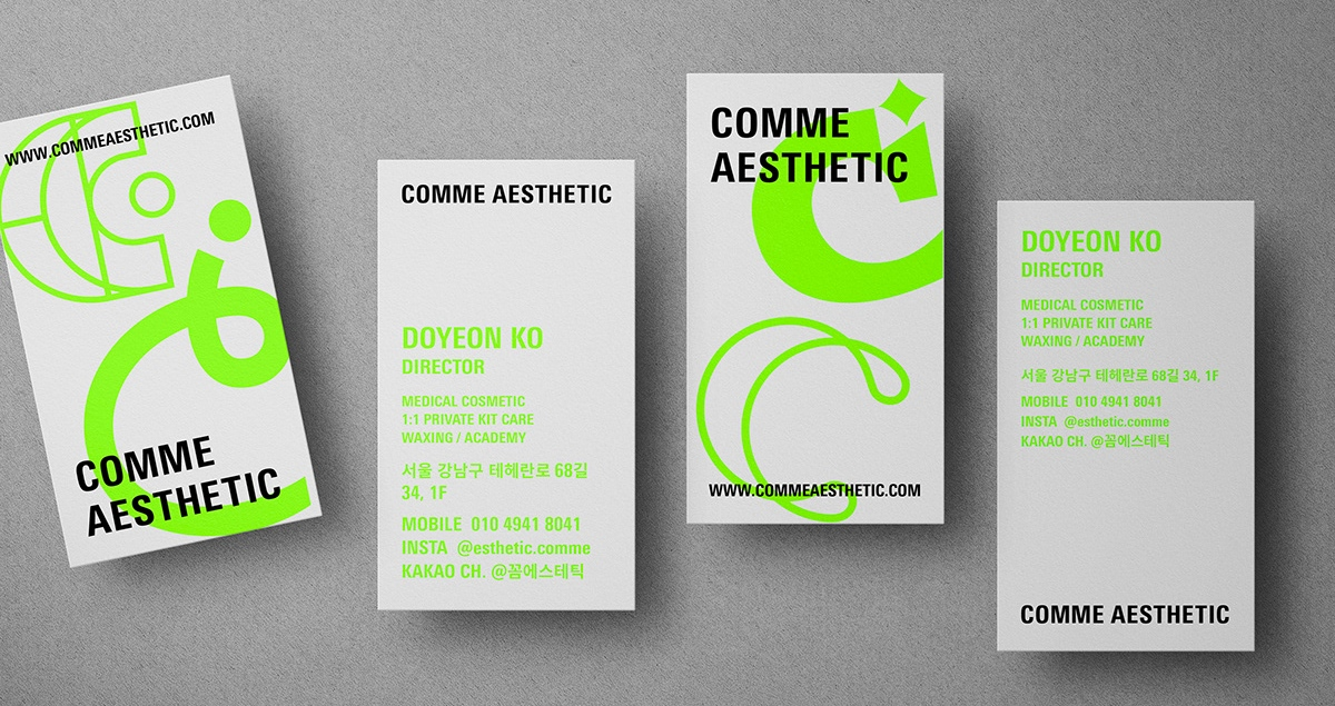 Comme Aesthetic branding logo identity design graphic blog project mindsparkle mag beautiful portfolio
