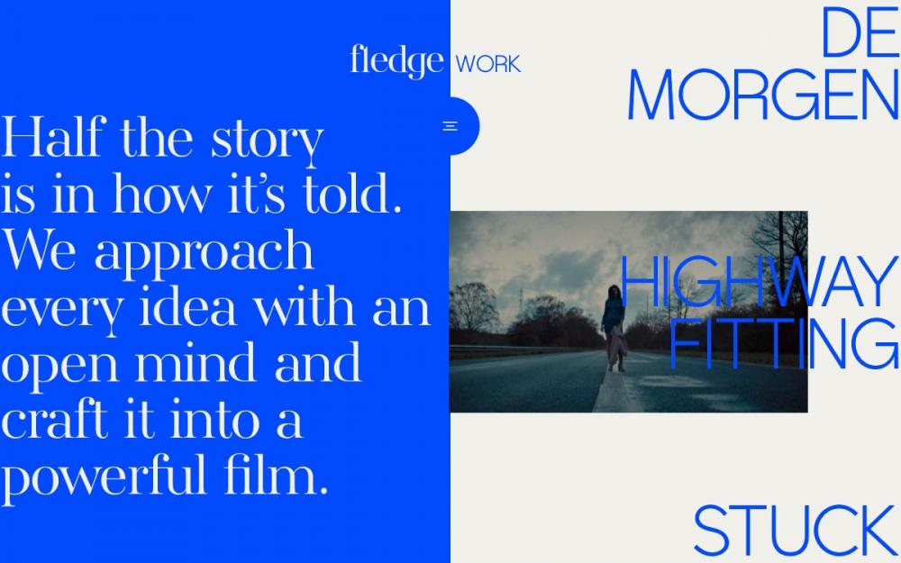 web design digital website modern inspiration beautiful project mindsparklemag sotd Fledge