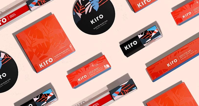 kiro branding logo identity design graphic blog project mindsparkle mag beautiful portfolio