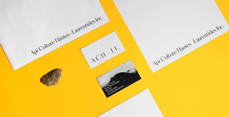 API Culture Hautes branding logo identity design graphic blog project mindsparkle mag beautiful portfolio