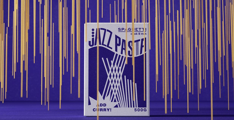 Jazz Pasta logo identity design graphic blog project mindsparkle mag beautiful portfolio