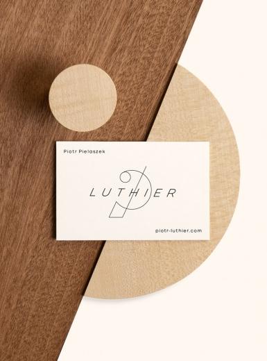 Piotr Pielaszek Luthier Identity branding logo identity design graphic blog project mindsparkle mag beautiful portfolio
