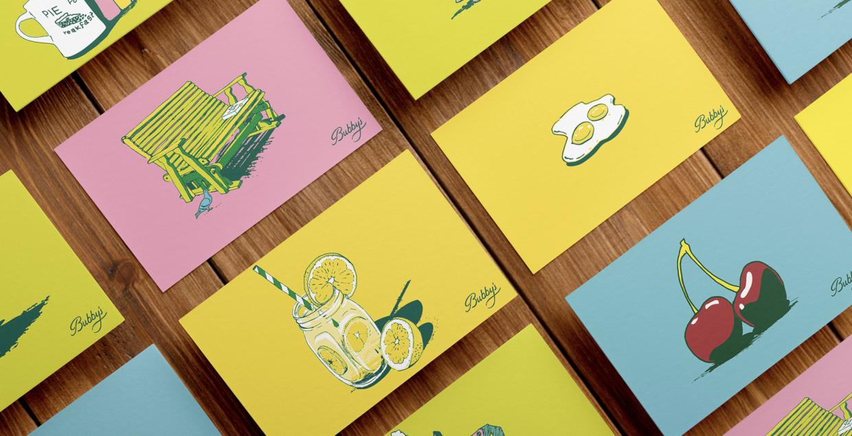 bubby's Identity branding logo identity design graphic blog project mindsparkle mag beautiful portfolio