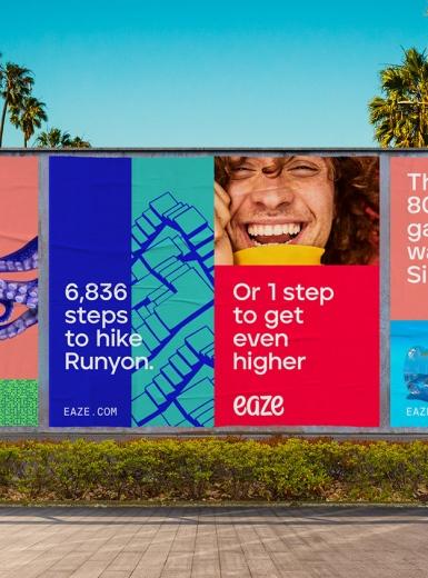 eaze branding logo identity design graphic blog project mindsparkle mag beautiful portfolio