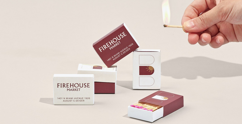 firehouse logo identity design graphic blog project mindsparkle mag beautiful portfolio