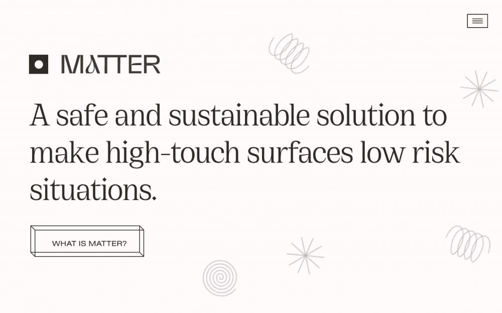 web design digital website modern inspiration beautiful project mindsparklemag sotd Matter