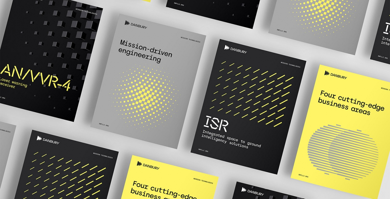 danbury graphic identity logo design graphic blog project mindsparkle mag beautiful portfolio