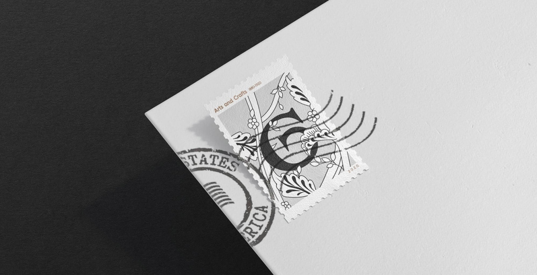 stamp 4rt graphic identity logo design graphic blog project mindsparkle mag beautiful portfolio