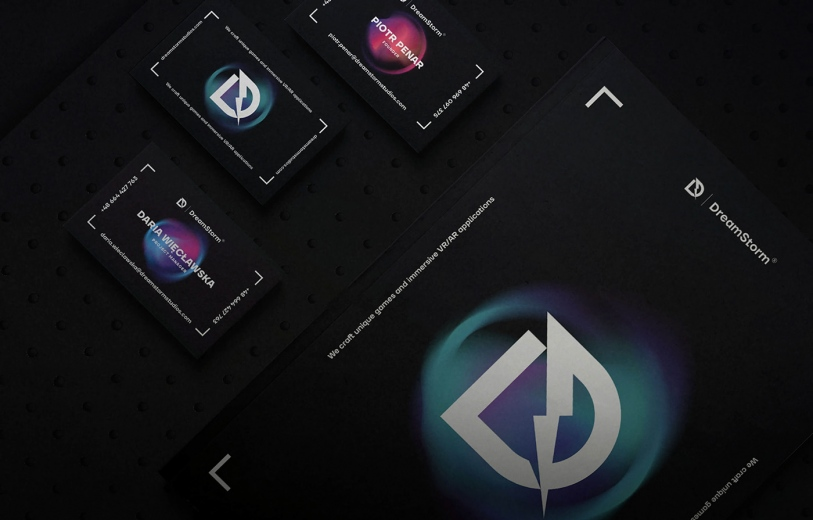 DreamStorm Studios graphic identity logo design graphic blog project mindsparkle mag beautiful portfolio