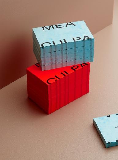 Mea Culpa design logo design graphic blog project mindsparkle mag beautiful portfolio