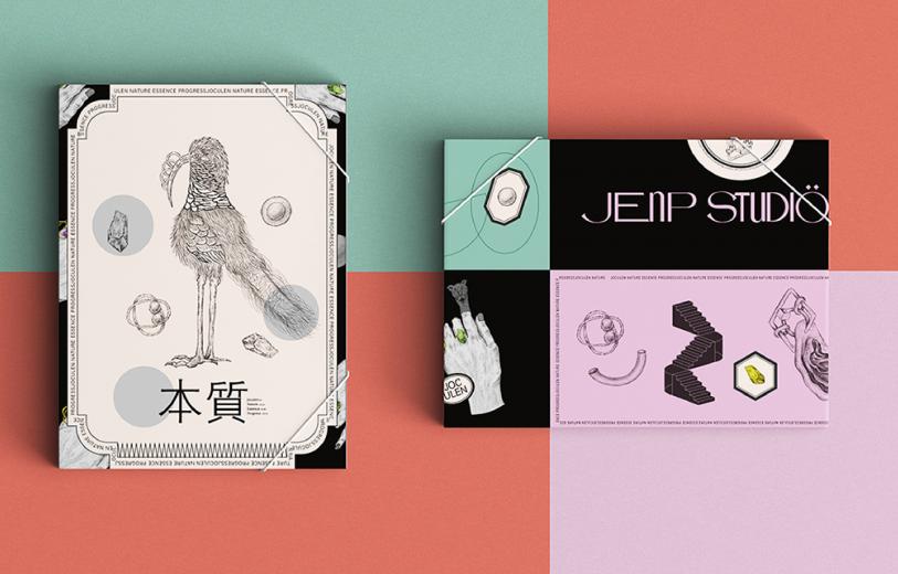 jenp studio design logo design graphic blog project mindsparkle mag beautiful portfolio