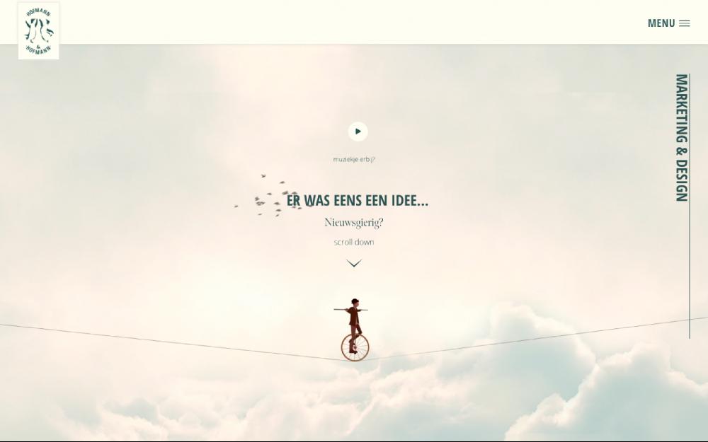 web design digital website modern inspiration beautiful project mindsparklemag newsite Hofmann & Hofmann