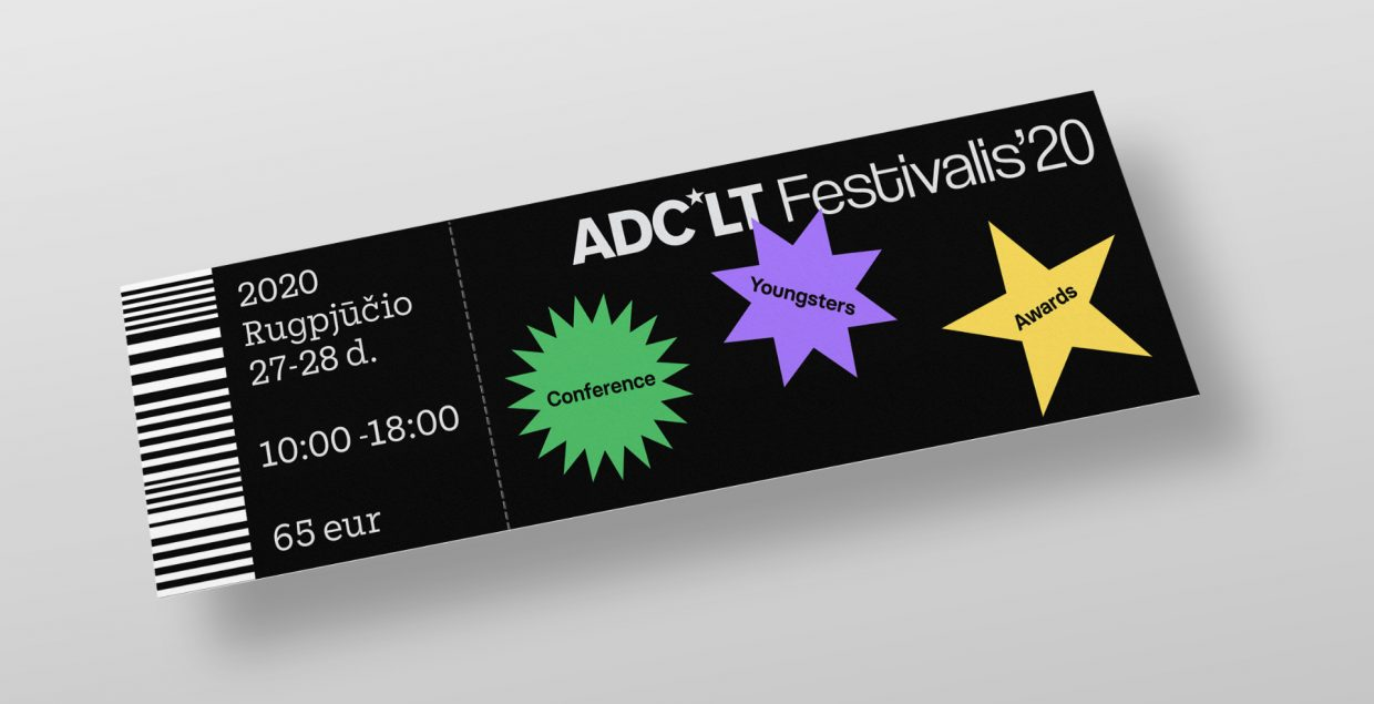 ADC*LT festival branding branding design logo design graphic blog project mindsparkle mag beautiful portfolio