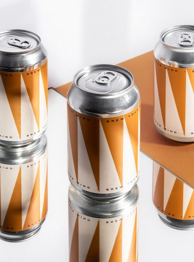 Brew Your Mind branding design logo design graphic blog project mindsparkle mag beautiful portfolio