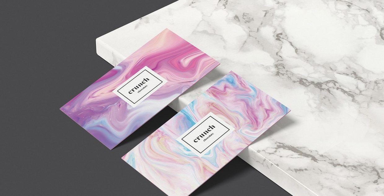 Crunch Chocolate branding design logo design graphic blog project mindsparkle mag beautiful portfolio