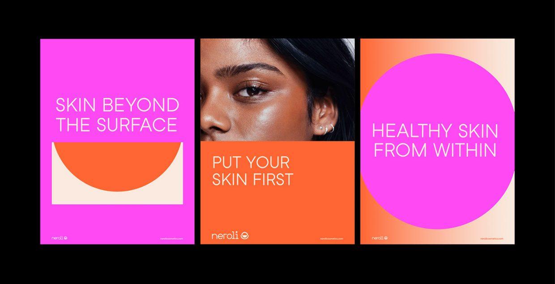 Neroli branding design logo design graphic blog project mindsparkle mag beautiful portfolio