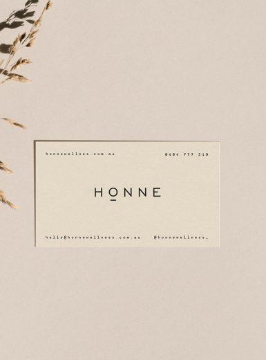 Honne Wellness branding design logo design graphic blog project mindsparkle mag beautiful portfolio