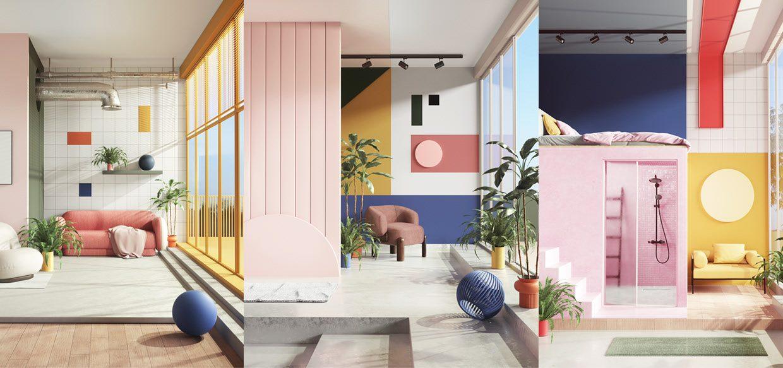 abstract architecture design logo design graphic blog project mindsparkle mag beautiful portfolio