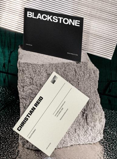 Blackstone identity logo design graphic blog project mindsparkle mag beautiful portfolio