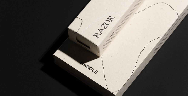 Handle identity logo design graphic blog project mindsparkle mag beautiful portfolio