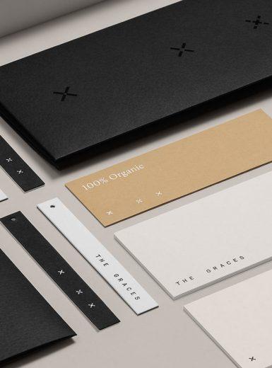 the graces identity logo design graphic blog project mindsparkle mag beautiful portfolio