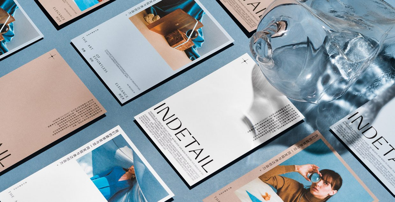 InDetail identity branding logo design graphic blog project mindsparkle mag beautiful portfolio