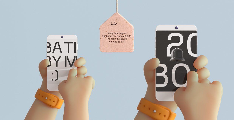 Kidtime Alex Firstov identity branding logo design graphic blog project mindsparkle mag beautiful portfolio