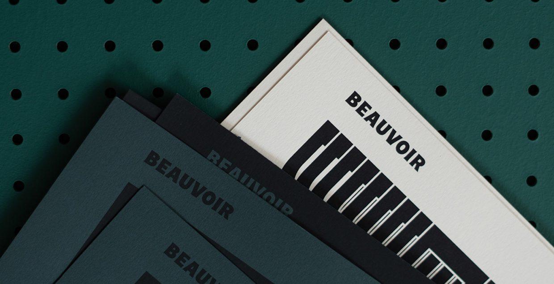 beauvoir design business branding dark aesthetic dynamic videos promote 2019 mindsparkle mag
